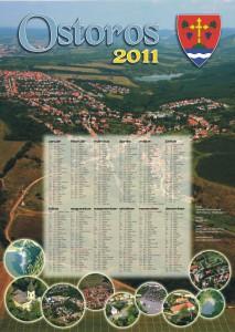 Ostorosi Kisbíró - Naptármelléklet 2011.