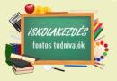 Szeptemberi bűnmegelőzési hírlevél – Iskolakezdés
